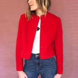 Beautiful Vintage Red Pendleton Jacket Blazer
